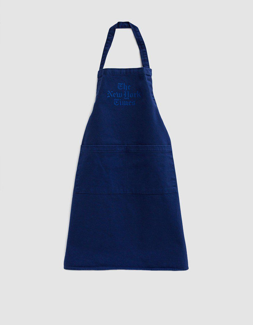 Stacked Logo Apron in Blue in 2019 | Kitchen | Apron, Logos