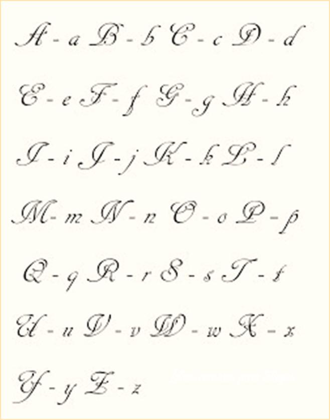 Disenos de letras cursivas para tatuajes sencillas for Disenos de literas