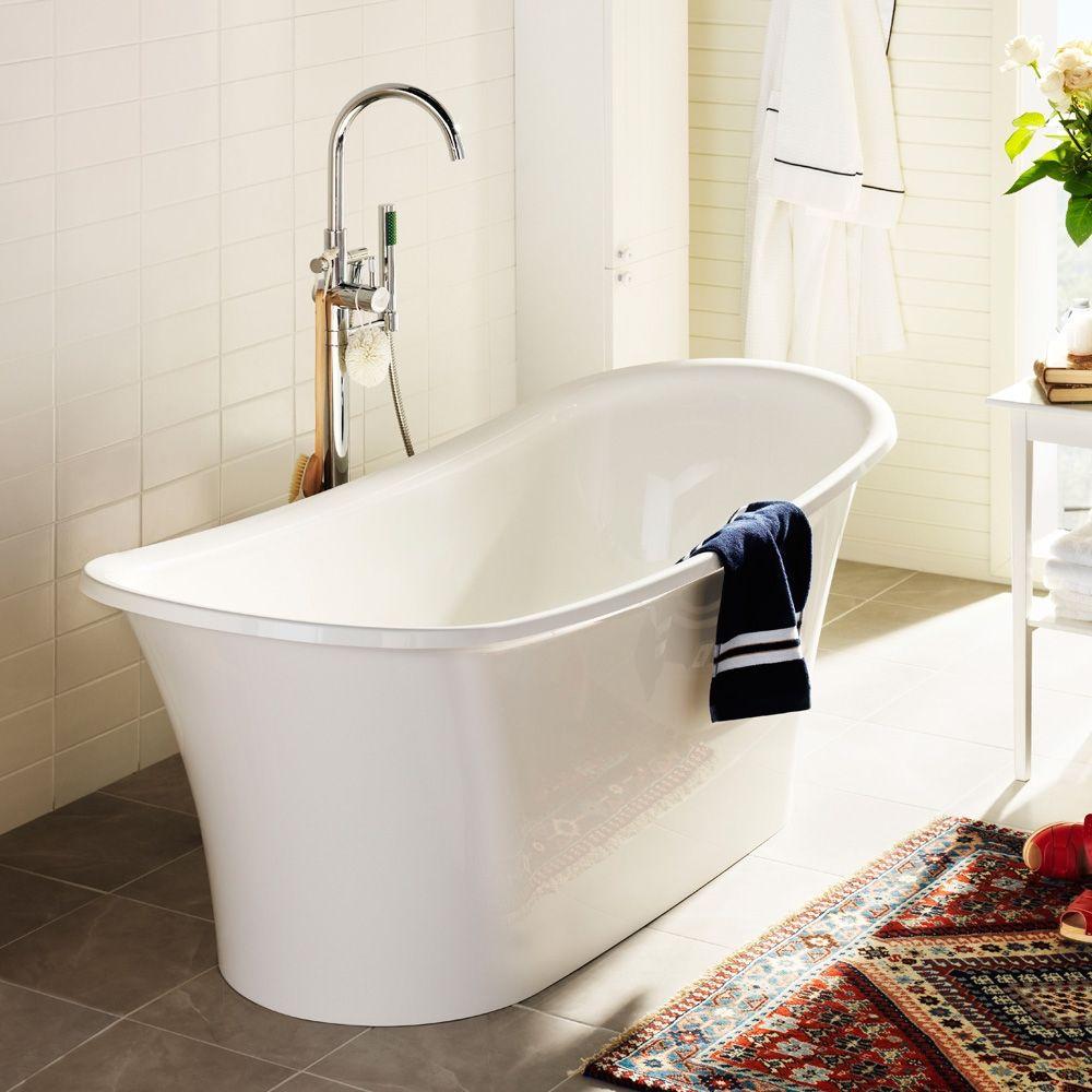 hafa hampton badekar 1445160 80002453 Hafa Hampton Frittstående badekar 1584x654mm  hafa hampton badekar