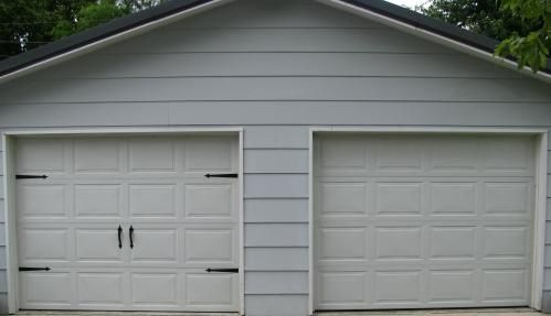 Crown Metalworks Black Traditional Decorative Garage