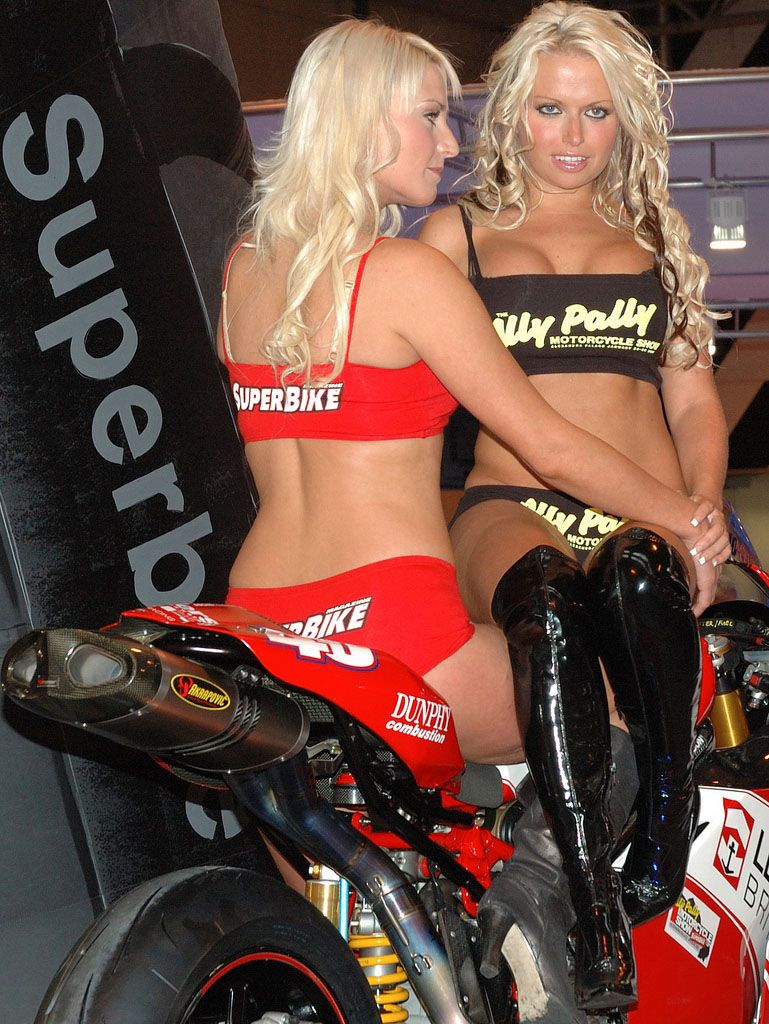 Ducati Monster1 Ducati Monsters Vs Hot Bikini Models -5001