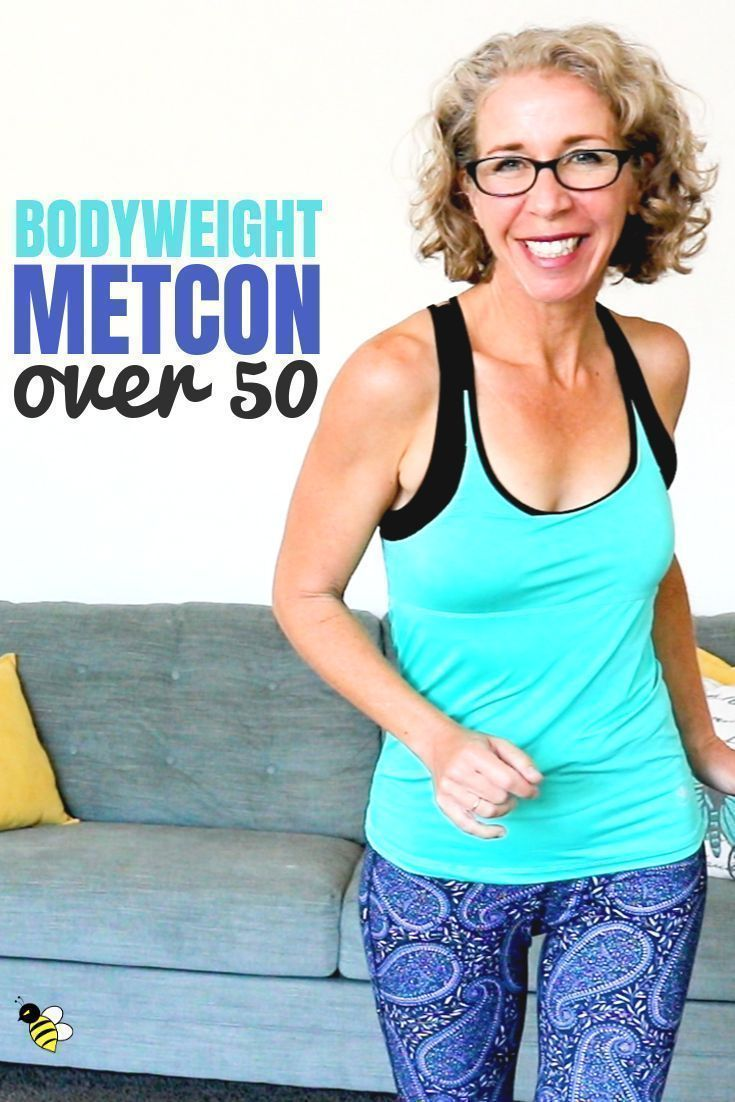 35 Minute LOW IMPACT Bodyweight MetCon Workout for Women Over 50 • Pahla B Fitness  Today we're doin...
