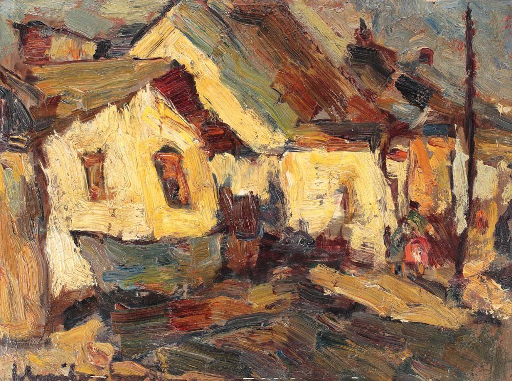 Rudolf Schweitzer-Cumpana - Fringe of Bucharest, 1940
