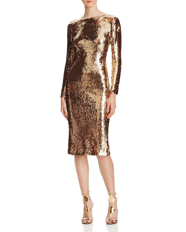 Dress the Population Sequin Midi Dress   Dresses, Midi dress ...