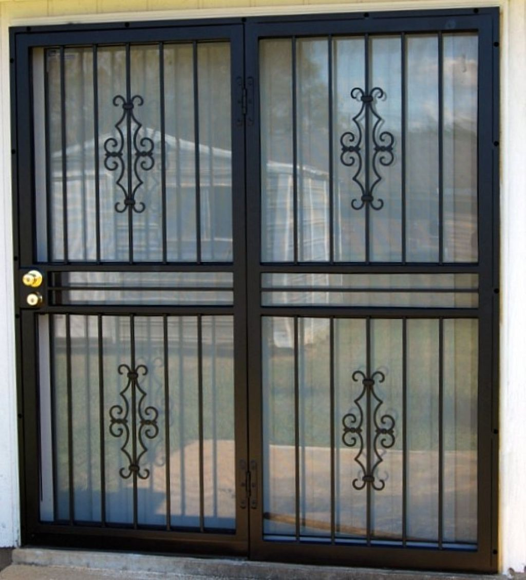 How About Security For Sliding Glass Doors Wood And Glass Is A
