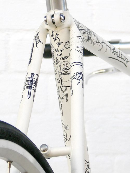 A Collection Of The Greatest Custom Painted Bikes Avec Images