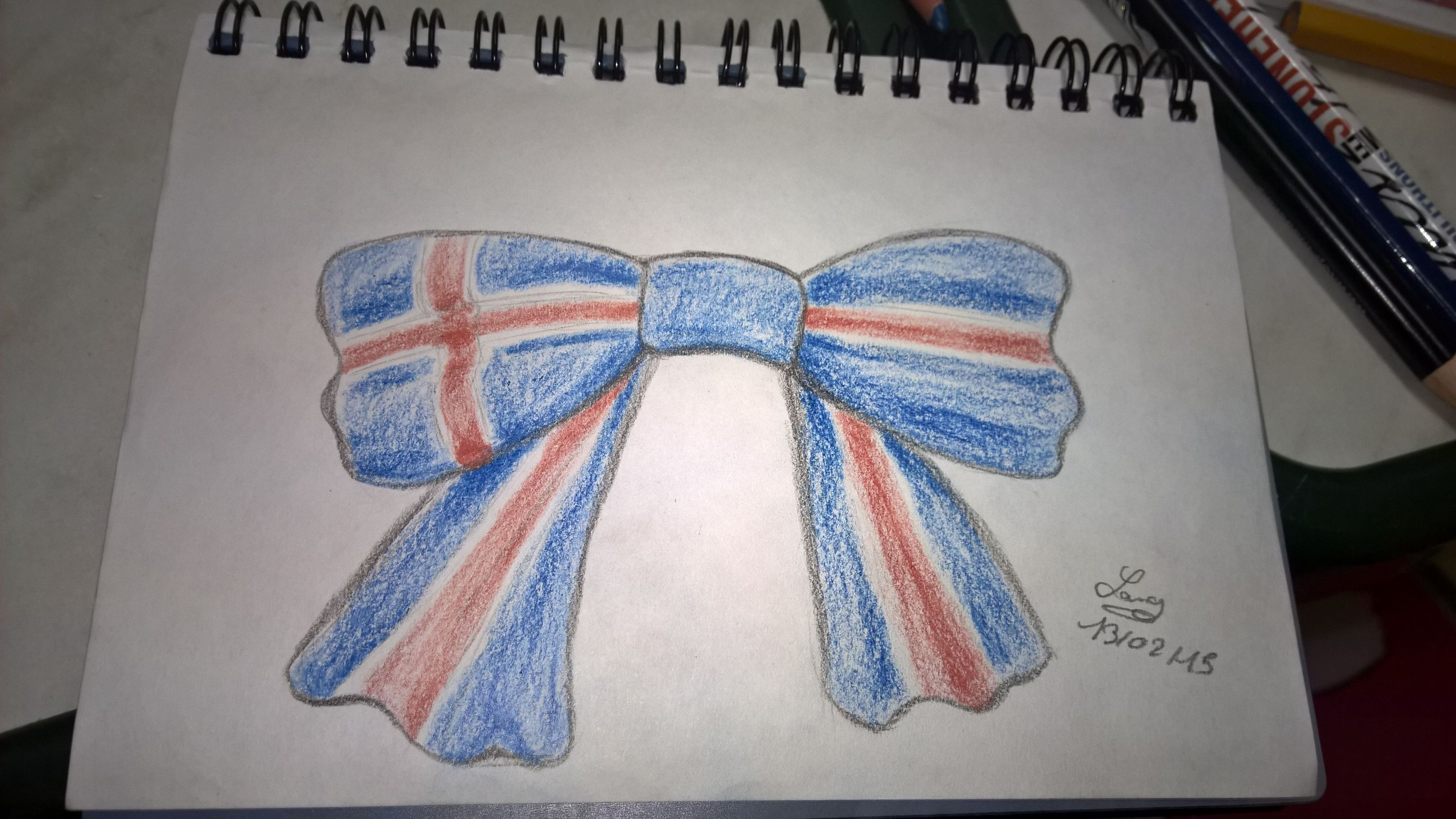 Okay, not really Hetalia related ... But I thought of Iceland when drawing this so yeah.