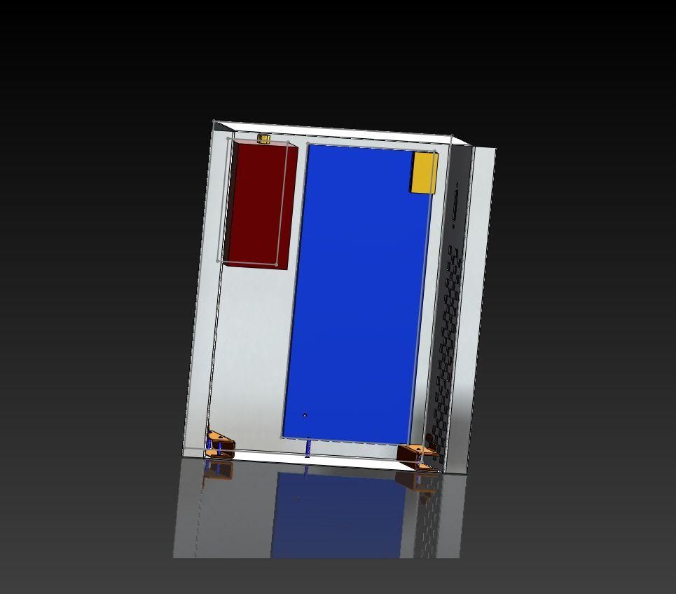 Sheet Metal Box Assembly Metal Box Sheet Metal Solidworks