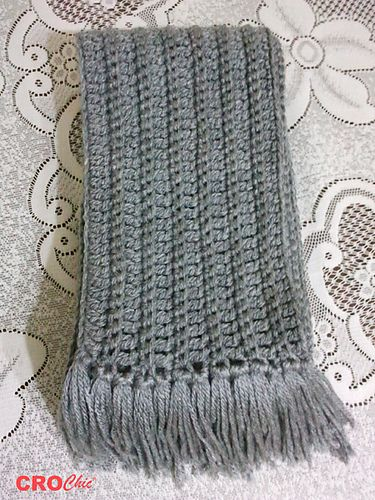 Scarf For Men And Women Pattern By Noha Abdelmegeed