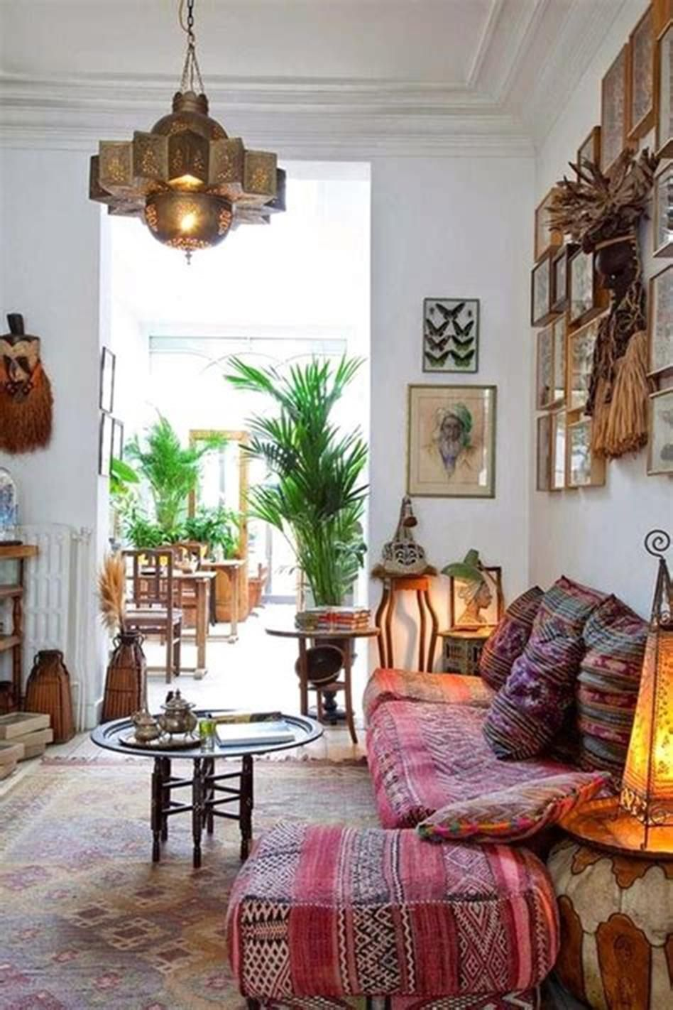 Small Boho Living Room: 35 Stunning Boho Bohemian Living Room Ideas