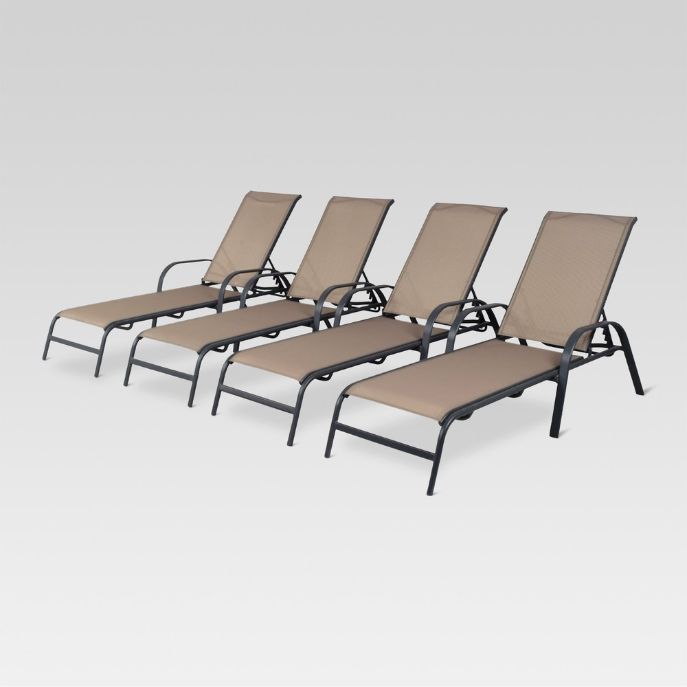 Stack Sling Patio Lounge Chair Tan Patio Ideas