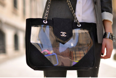 Chanel See Through Bag