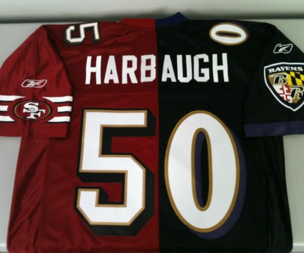sports shoes f7371 d3fe6 Who wants this ridiculous Harbaugh Bowl jersey ...