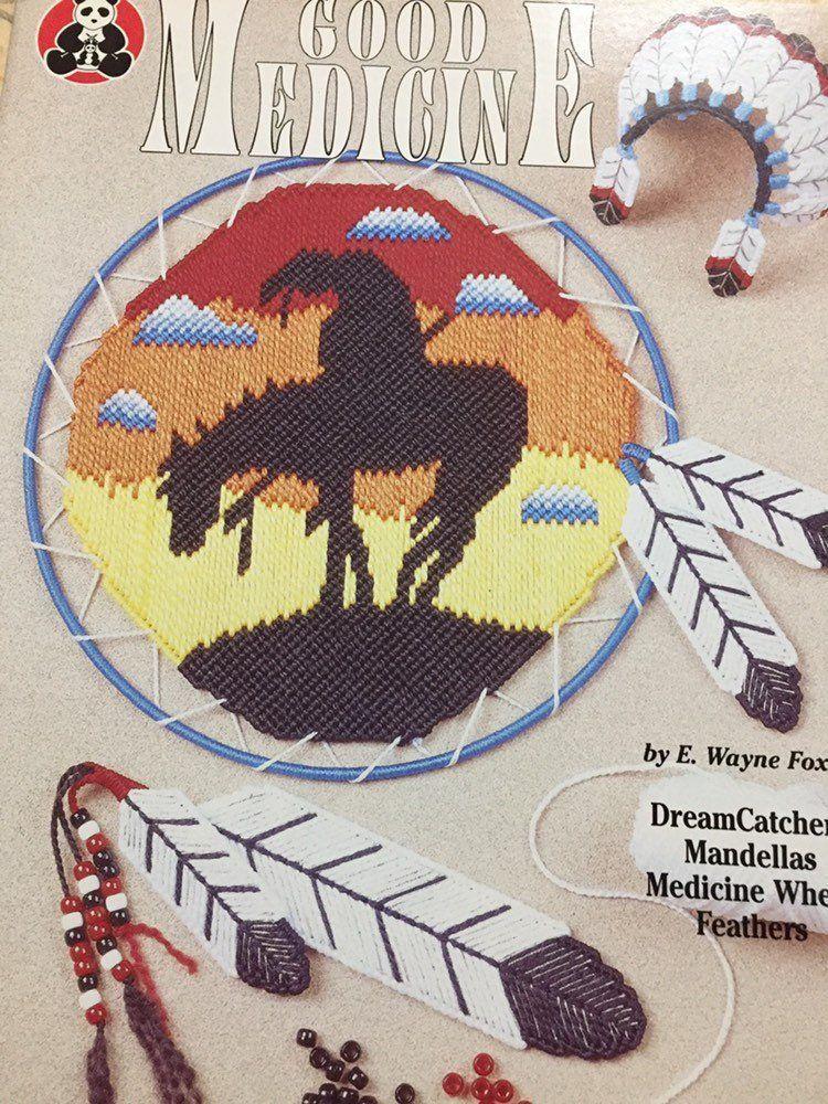 Good medicine plastic canvas patternsnative american