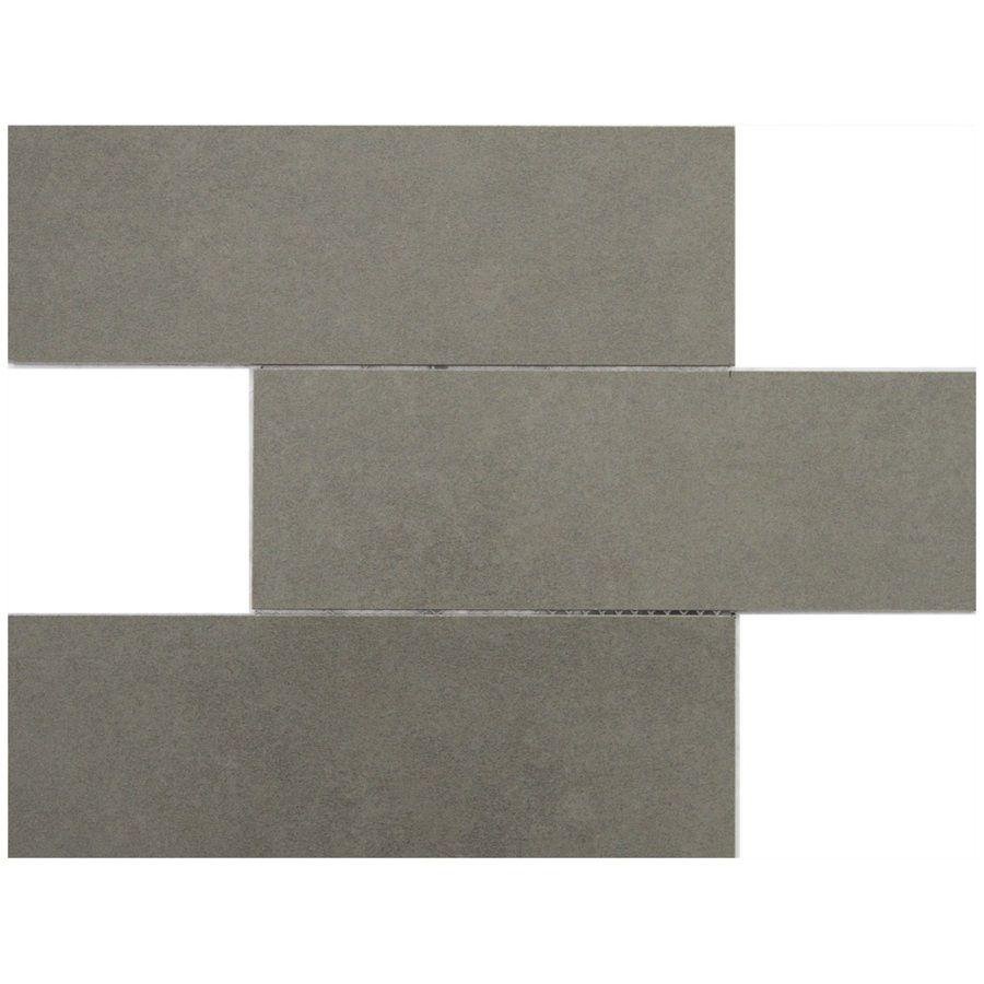Shop gbi tile stone inc thin n easy grey glazed porcelain shop gbi tile stone inc thin n easy grey glazed porcelain mosaic doublecrazyfo Images