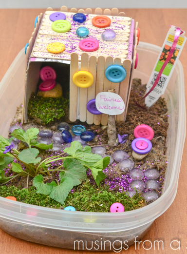Fairy House Kids Craft The Girls Would Love This We Re