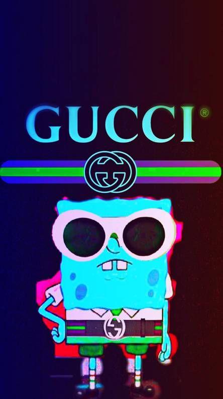 Gucci spongebob Gucci wallpaper iphone, Spongebob