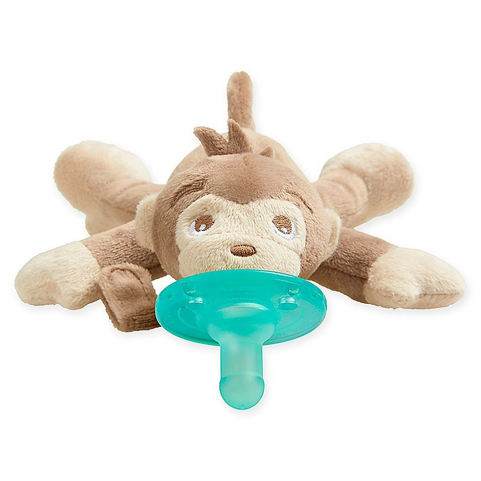 Philips Avent Soothie Snuggle Monkey Pacifier Brown Philips