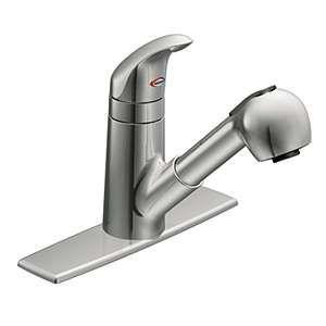 Moen Ca87315c Integra Chrome 1 Handle Kitchen Faucet