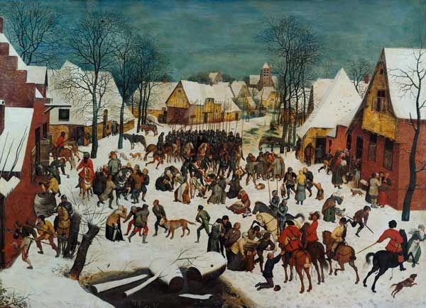 """La masacre de los inocentes, de Pieter Brueghel """"el Jóven"""".- NT"""