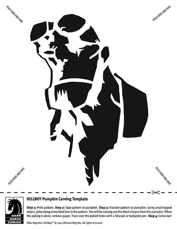 Dark Horse pumpkin carving templates :) | СУПЕРГЕРОИ VECTOR MONO ...