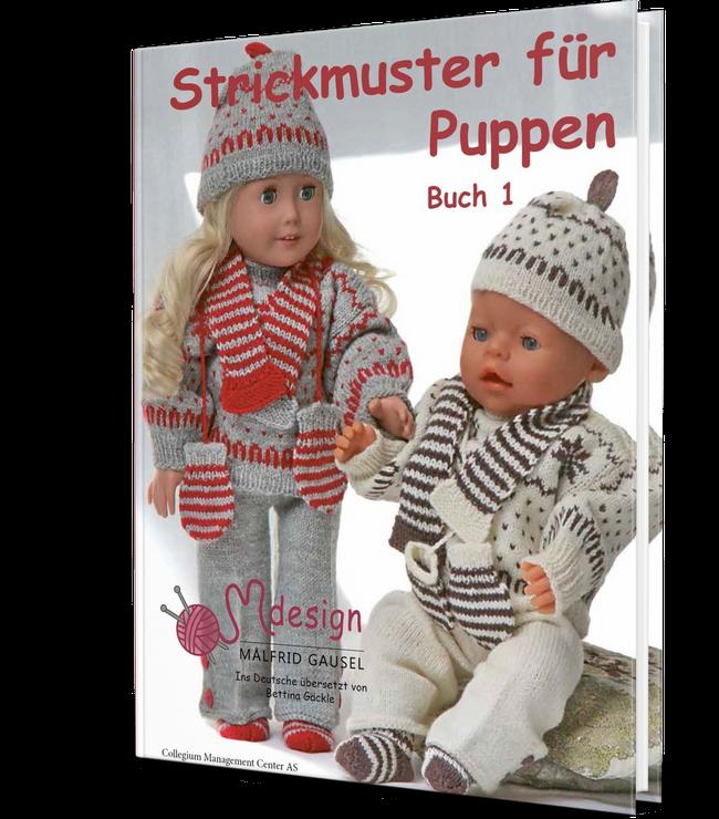 Photo of Strickmuster für Puppen Buch | Norwegermuster stricken Buch