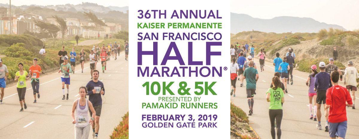 36th annual kaiser permanente san francisco half marathon