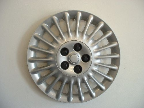 1999 Mercury Sable Aftermarket Wheel Covers:  Description: 	Aftermarket Wheel Covers  AFTERMARKET WHEEL COVERS, 15 INCH, SILVER ABS 10   DIRECTIONAL VENT, SPRING STEEL CLIP APPLICATION  Pack: 	FOUR COVER SET  Discount Price: 	$26.50  Fits: 	1999 Mercury Sable  Part No: 	IWC415/15S