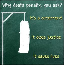 an argument in favor of the death sentence as a punishment and deterrent to future capital offences I support the death penalty because i believe, if administered swiftly and justly, capital punishment is a deterrent against future violence and will save other innocent lives.
