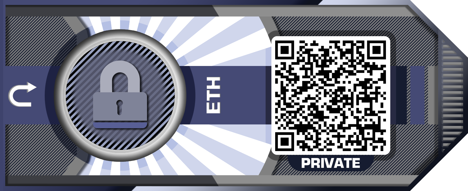 cryptocurrency paper wallet template