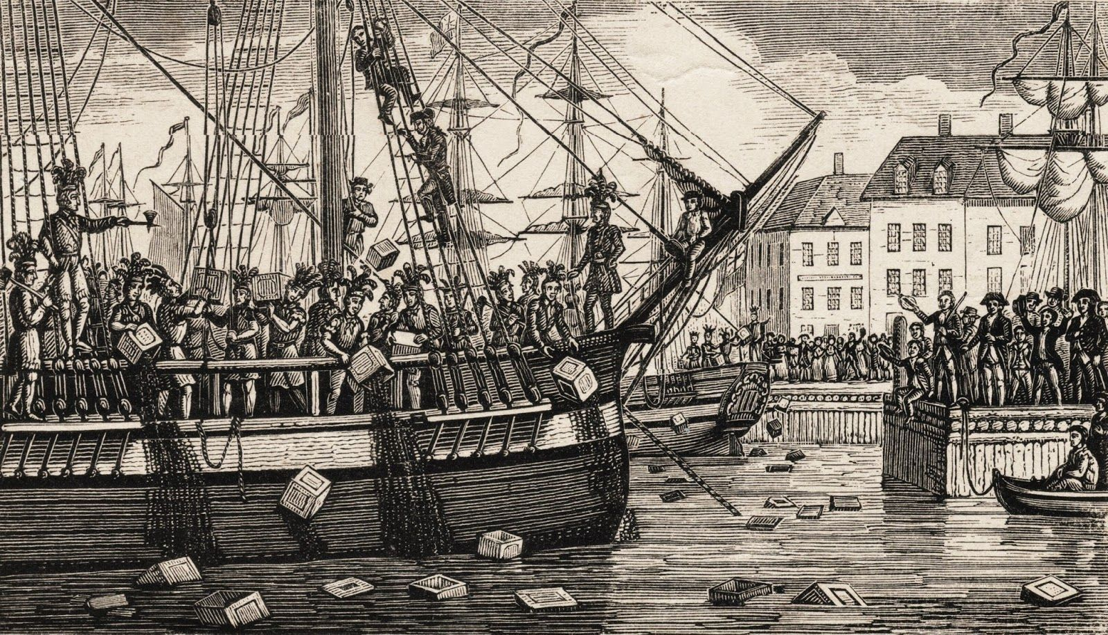 a glance at the boston tea party The boston tea party was a political protest that occurred on december 16, 1773 , at griffin's wharf in boston, massachusetts american colonists, frustrated and.