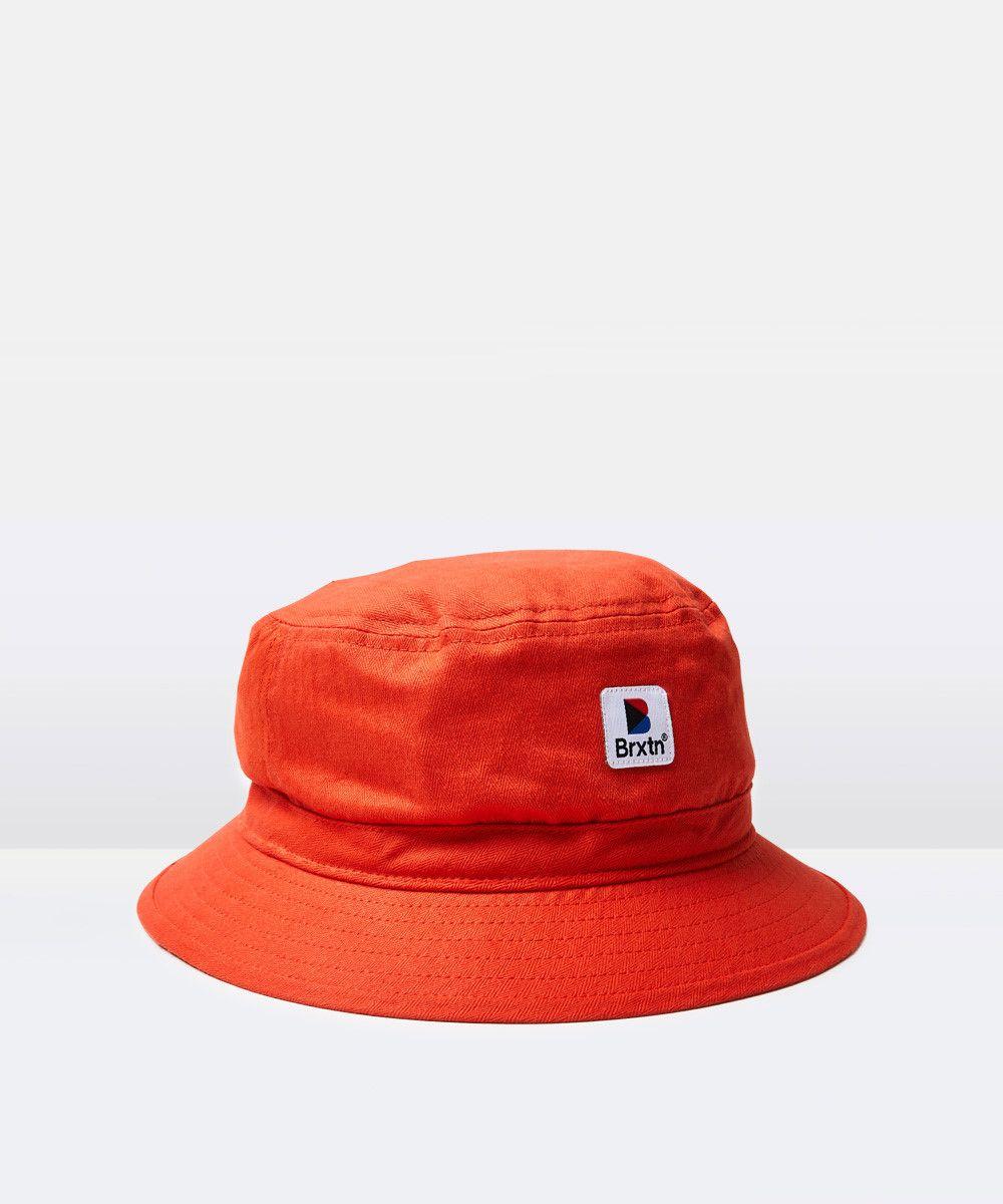 b5a28eb4f87963 Brixton - Stowell Bucket Hat - Orange | promote ur pins ○ㅅ○ in ...
