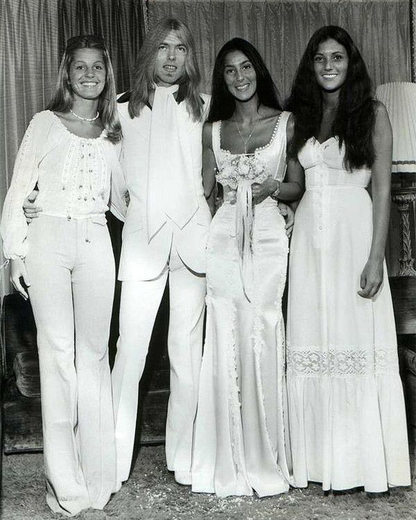 Photo of The most iconic rock star wedding photos