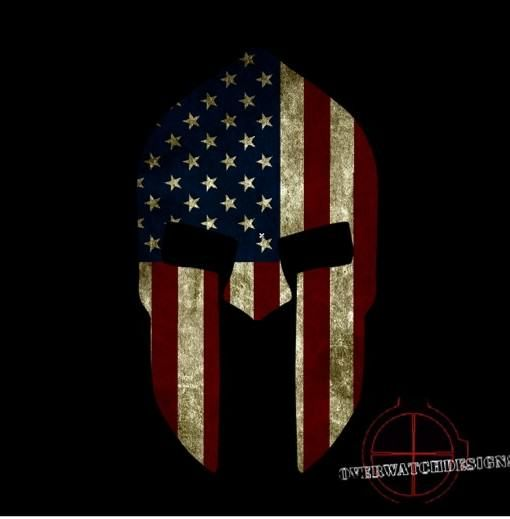 American Flag Spartan Helmet New Products Tattoos Spartan