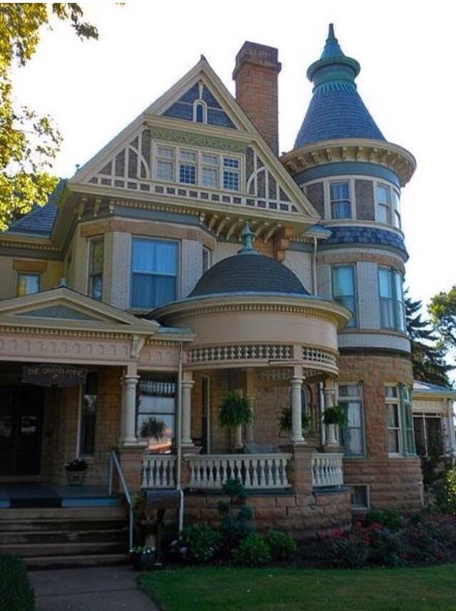 Victorian House Epiphany Exteriors Houses Pinterest