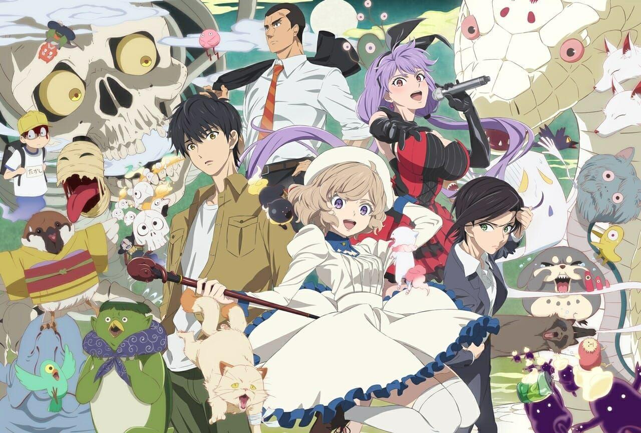 In/Spectre Anime Gets Visual & TV Spots, 9 Cast Members