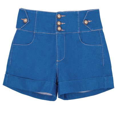 MIXED - Short jeans Augusta Mixed - azul - OQVestir