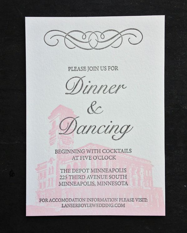 Featured Wedding Invitation Design Modern Formal Invitation Suite - formal invitation