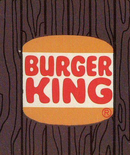 Burger King 1970s Logo Restaurant Logos Childhood Memories