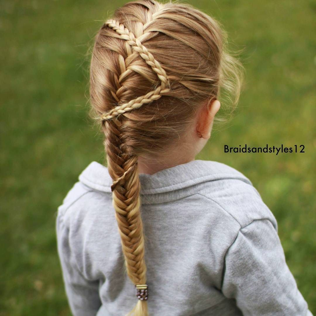 cool hairstyles for little girls on any occasion fishtail