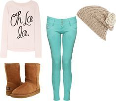 3fce7dfee cute winter outfits for middle school girls - Google Search ...