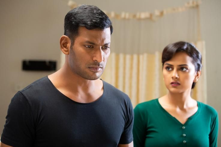 விஷால் நடிக்கும் 'சக்ரா' படத்தின் விரைவில் டீஸர் !