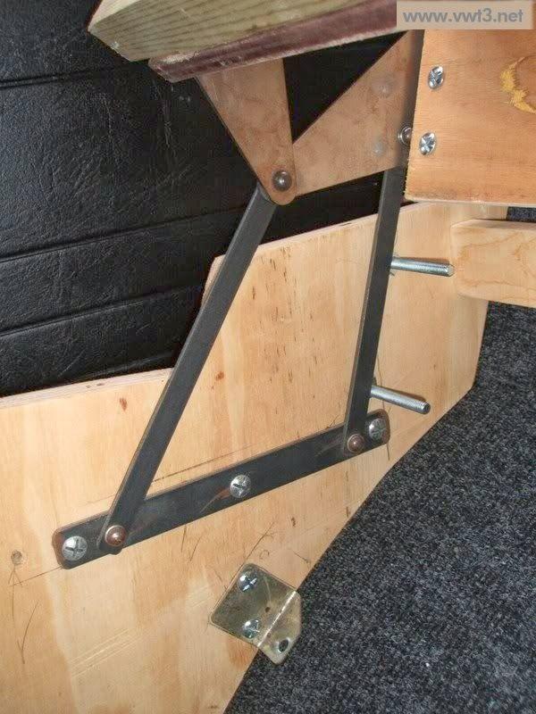 Mecanismo sofa cama camper planos t cnicos for Sofa cama vintage