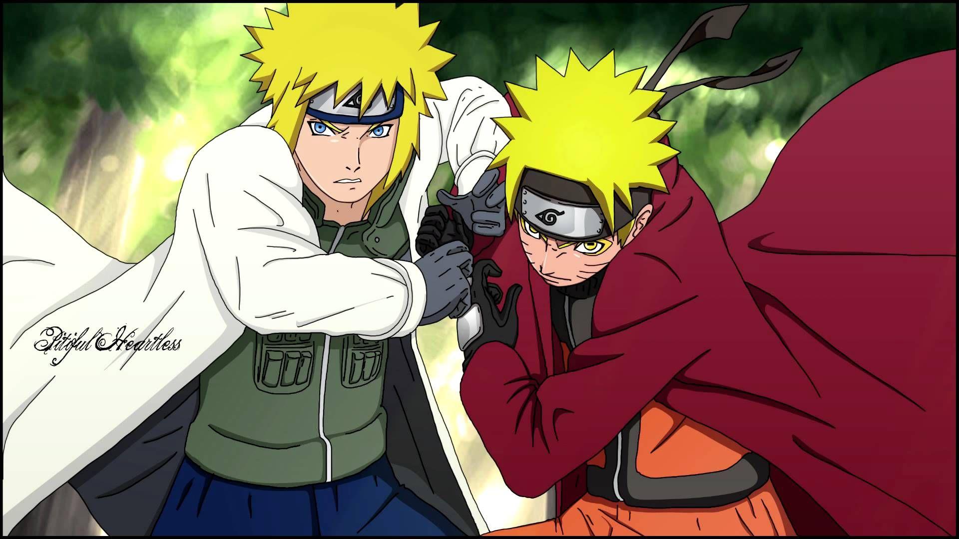 Naruto Shippuden Wallpaper Dengan Gambar Desain Karakter Gambar