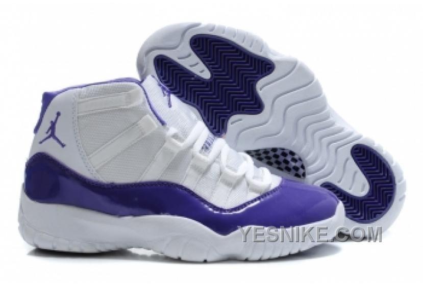 b752ef74dc6b Air Jordan 11 Retro Violet White! 66.20USD Purple Shoes