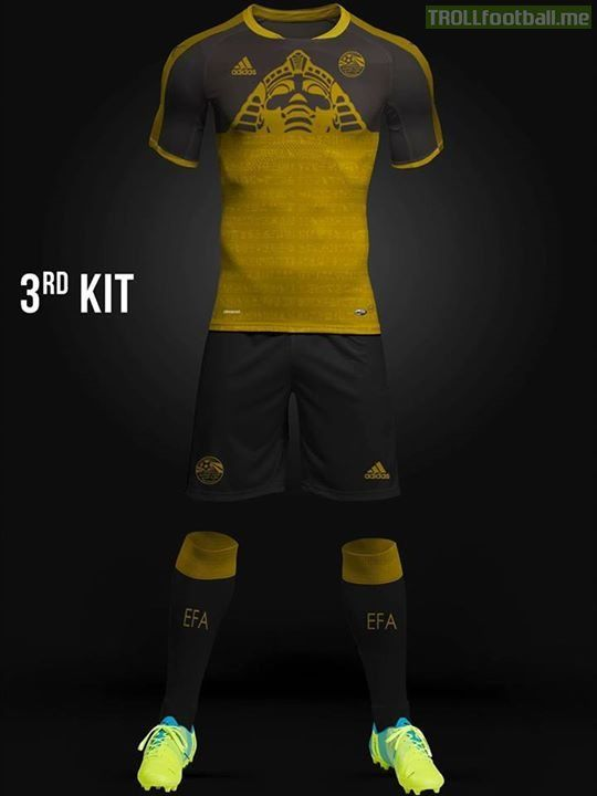 be15de59db0 Egypt 3rd Kit World Cup 2018 Concept Kit | Egypt | World cup 2018 ...