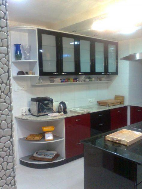 Captivating Modular Kitchen Design Concepts 2013  Modern White Extraordinary Kitchen Design Concept Inspiration