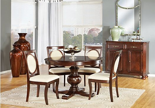 Shop For A Emory Heights 5 Pc Dining Room At Rooms To Gofind Entrancing Rooms To Go Dining Room Set Review