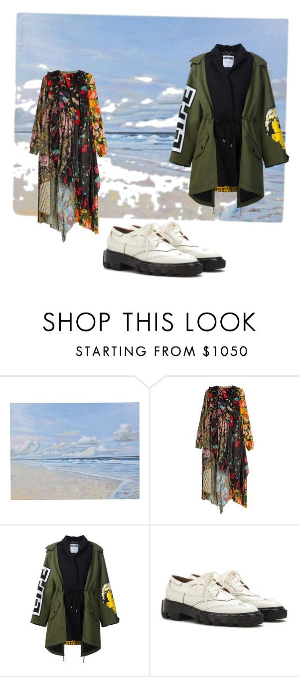 """""""Happy Saturday"""" by kit92 ❤ liked on Polyvore featuring Balenciaga and Moschino"""