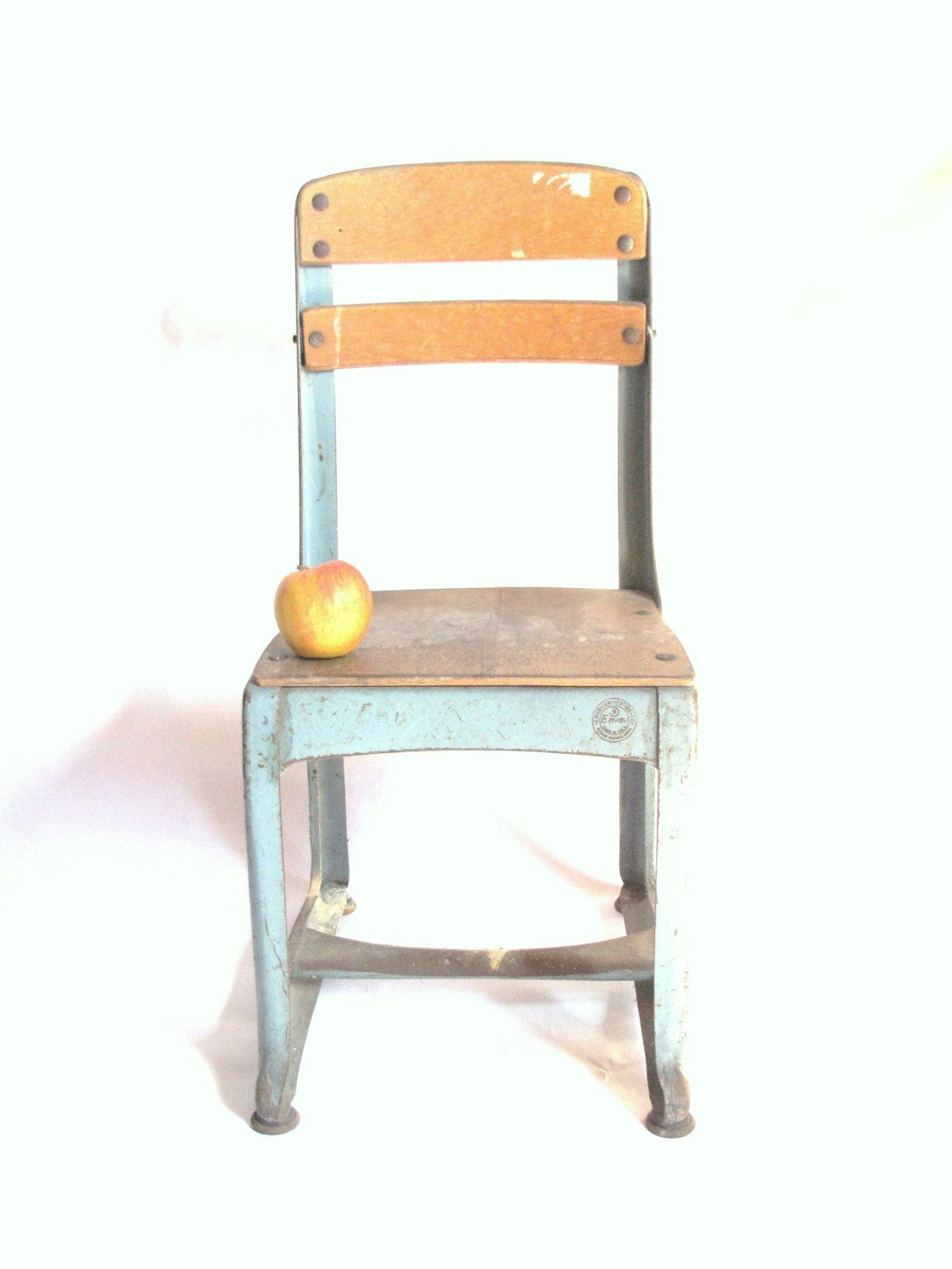 vintage child s school chair american chair co envoy no 13 mid